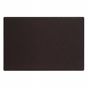 "Push-Pin Bulletin Board, Fabric/Fiberboard, 36""H x 48""W, Black"