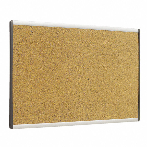 Quartet cubicle bulletin board silver frame 30p042 Cubicle bulletin board ideas