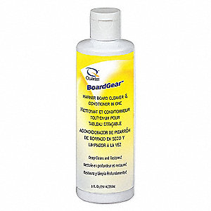 Dry Erase Board Conditioner and Cleaner, Removes Ink Stains and Streaks, 8 oz.