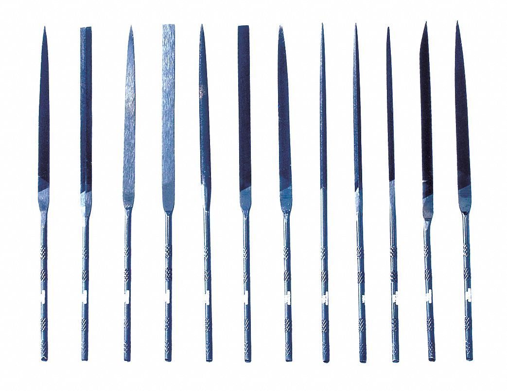 WorkShop 86653RP Needle File Set 6-Piece