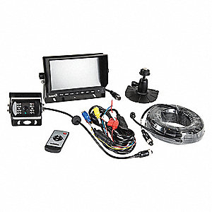 Rear View Camera System, 7 in. Monitor