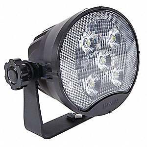 "Flood Light,3600 lm,Oval,LED,5-1/4"" H"