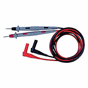4 ft. Test Lead Kit, CAT III 1000V, CAT II 300V Instrument Safety Rating