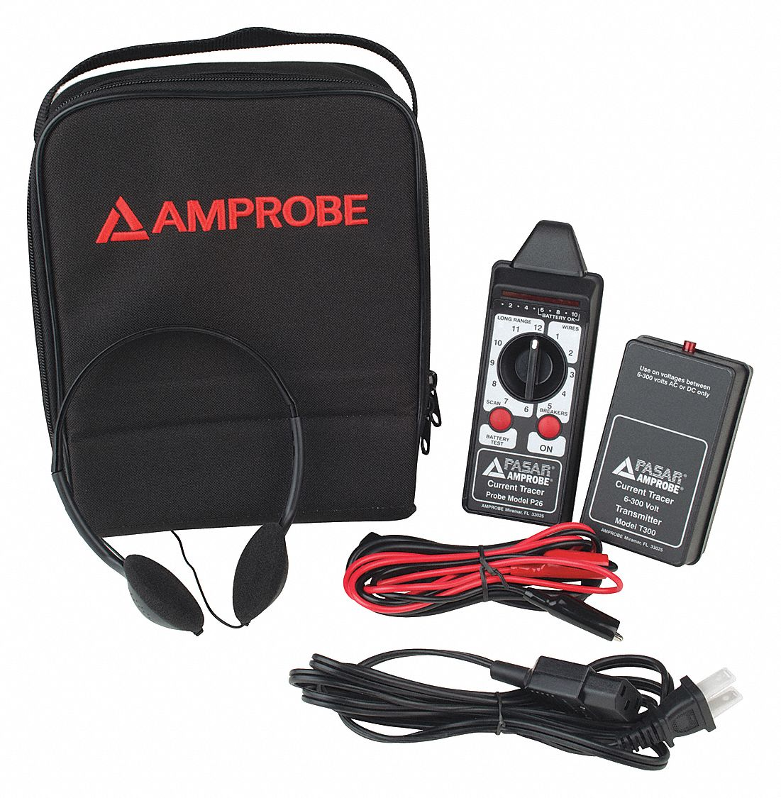 Amprobe Wire Tracer 9 To 300vac Dc 30pj84 Ct 326 C Grainger Featured Electrical Circuit Tracers And Testers At Test Equipment