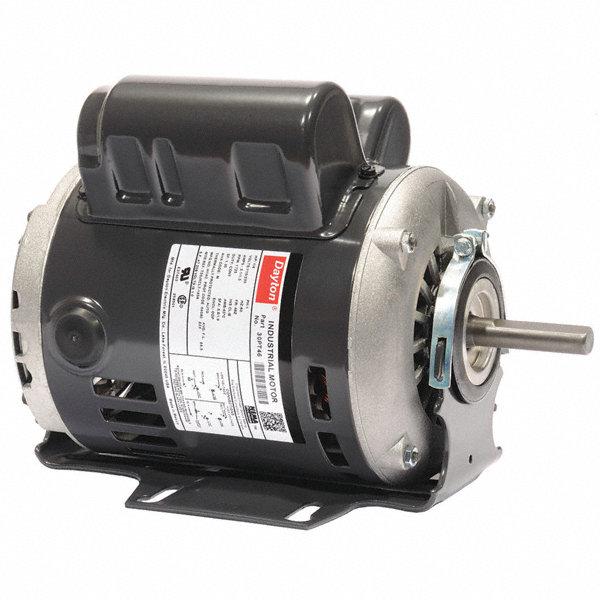 Dayton 1 4 hp general purpose motor capacitor start run for Dayton capacitor start motor