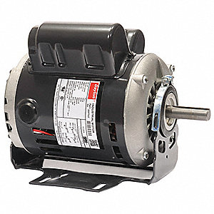 1 HP General Purpose Motor,Capacitor-Start/Run,3450 Nameplate RPM,Voltage 115/230,Frame 56