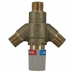 "Thermostatic Mixer, 4-5/8"" x 4"" x 1-5/8"""