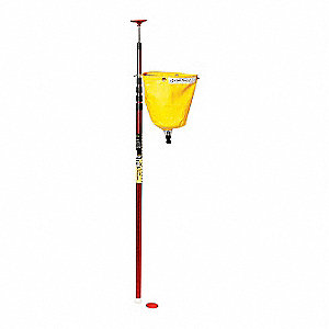 High-Reach Leak Diverter,Yellow,5 lb.