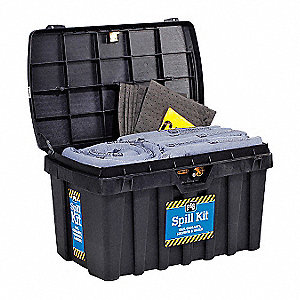 Spill Kit, Universal, Black
