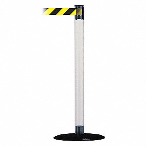 Barrier Post with Belt,Polycarbonate