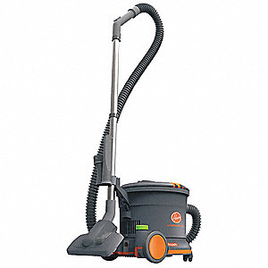 3 gal. Commercial Series Canister Vacuum, 10 Amps, HEPA Filter Type