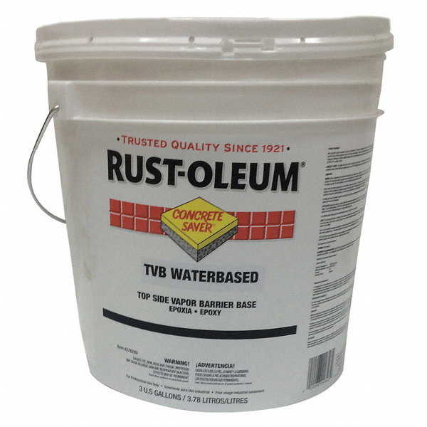Rust Oleum Clear Base Vapor Barrier Primer Flat Finish