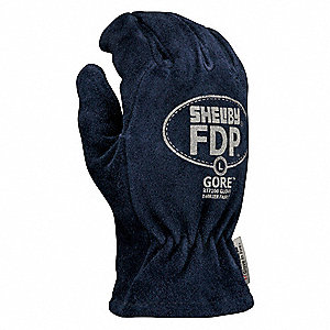 Firefighters Gloves,XL,Blue,PR