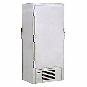 Law Enforcement Evidence Refrigerator, Number of Compartments 12, Stainless Steel, Nonpass-through