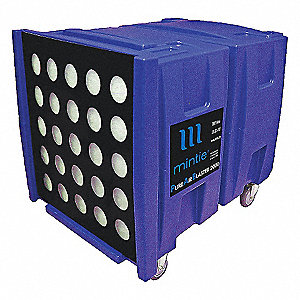 Negative Air Machine, 2 HP HP, 115 Voltage, 20 Amps, 2000 cfm