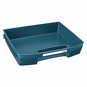 Drawer,Blue,2-1/2 in. H