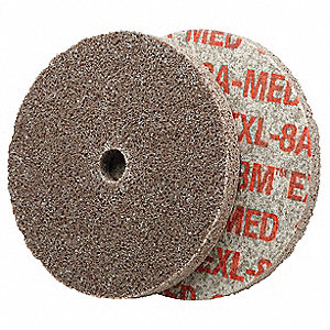 Unitized Wheel,3in. Dia.,Arbor Hole