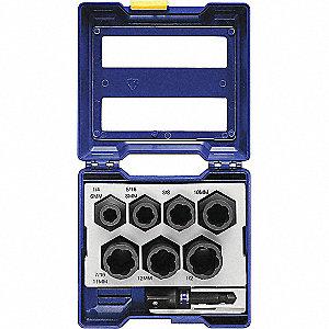 Irwin Screw Extractor Set Extractor Type Reverse Spiral Flute Impact Bolt Extractor Number Of Pieces 8 30tk40 1859150 Grainger