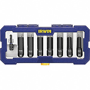 Impact Bolt Extraction Set,8 pcs,Drawer