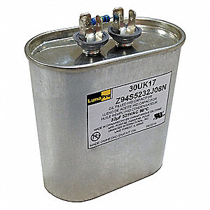 "Oil-Filled HID Capacitor, 32 MFD Rating, 525VAC, For Use With 1500W MH CWA, 2"" Diameter"