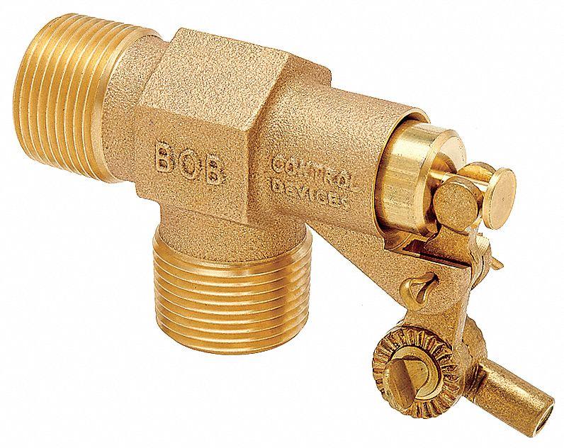 B /& K Heavy Duty Brass Float Valve Bulk