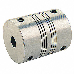 "MotionControl Coupling,Clamp,3/8""x9mm"
