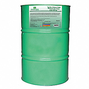 Vegetable Oil Hydraulic Oil, 55 gal. Drum, ISO Viscosity Grade : Not Specified