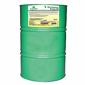 Vacuum Pump Oil, 55 gal. Container Size