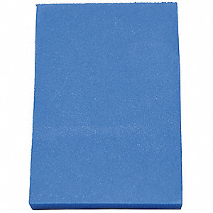 Kitting Sheet,Polyethylene,Blue,1/4 in.
