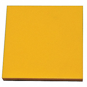 "Crosslink Foam Sheet, Polyethylene, 3/4"" Thick, 48"" W X 48"" L, Yellow"