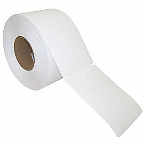 "Thermal Transfer Label, White, 4""W x 6"""