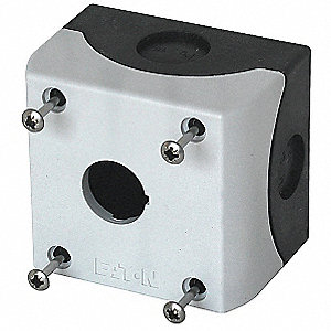 Pushbutton Enclosure, 1, 2, 3, 4, 4X, 13 NEMA Rating, Number of Columns: 1