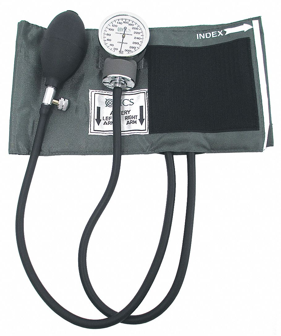 Standard Blood Pressure Unit,  Thigh,  Large Adult,  16-1/8 in to 24-1/8 in Cuff Size,  Nylon