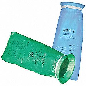 Emesis Bag Plastic Blue Pk24