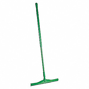 SQUEEGEE 20IN W/51IN HANDLE, GREEN