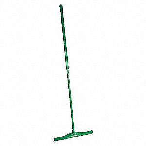 SQUEEGEE 20IN W/59IN HANDLE, GREEN