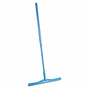 SQUEEGEE 24IN W/51IN HANDLE, BLUE
