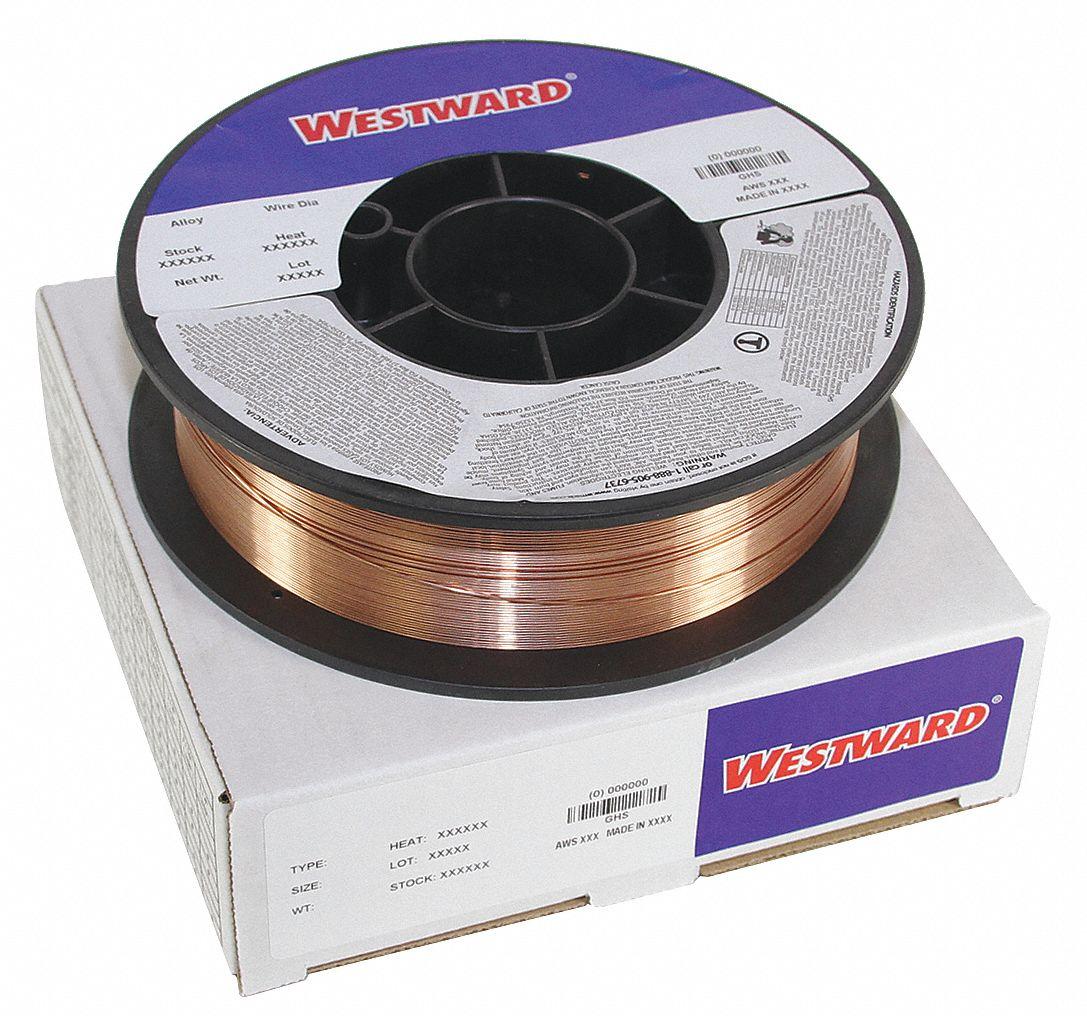 "11 Lb Spool .030/"" ER-70S-6 Carbon Steel Mig Wire"