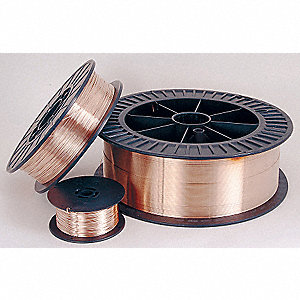 "11 lb. Silicon Bronze Spool MIG Welding Wire with 0.045"" Diameter and SILBRZ AWS Classification"