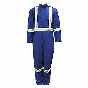 COVERALLS FR 7OZ RB W/REFLECTIVE