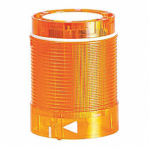 120VAC LED Tower Light Module Flashing with 50mm Dia., Amber