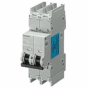 Mini Circuit Breaker,1A,2 Poles,C,240V