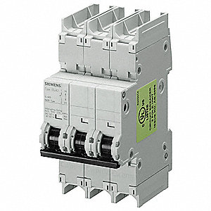 Mini Circuit Breaker,4A,3 Poles,D,240V