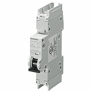 Miniature Circuit Breaker, 8 Amps, C Curve Type, Number of Poles: 1