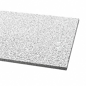 CEILING TILE,SQ.LAY-IN,24X48X5/8,PK8