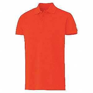 SALFORD PIQUE DRK ORANGE 2XL