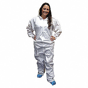COVERALL W/OPEN WRISTS AND ANKLES