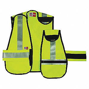 SAFETY VEST FR CSA YEL-XL-REG