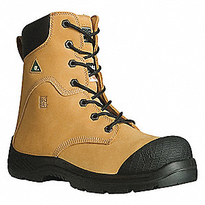 TRACTION 360 8IN MENS-TAN-9.5