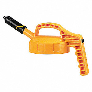 LID MINI SPOUT W/0.27 I YELLOW
